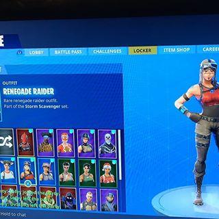 Fortnite Renegade Raiderskull Trooper Ginger Gunner Account Other Gameflip