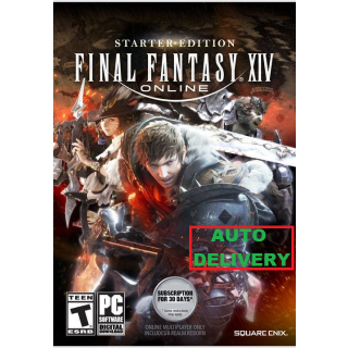 FINAL FANTASY XIV Online Starter Edition (Twitch PRIME) | PC Version only | AUTO DELIVERY #5