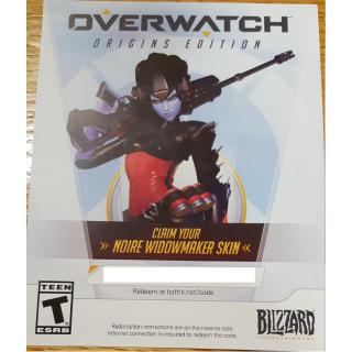 Overwatch (PC) - Noire Widowmaker Skin DLC (North America, US, Canada) | AUTO DELIVERY #1