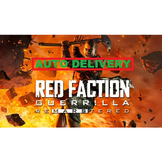 Red Faction Guerrilla Re-Mars-tered Steam Key ( Instant Delivery) #1
