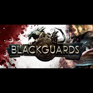1 Steam Key - Blackguards - Standard Edition