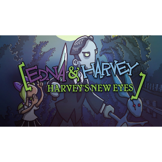 1 GOG Key - Edna & Harvey: Harvey's New Eyes