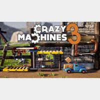 Steam Key - Crazy Machines 3 [☑️Instant Delivery☑️]
