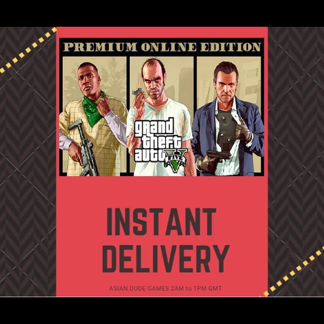 Grand Theft Auto V: Premium Online Edition GLOBAL