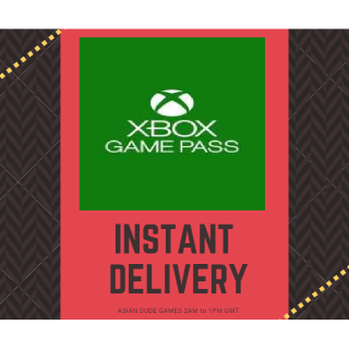 1 Month Xbox Game Pass XBOX ONE KEY GLOBAL [INSTANT DELIVERY]