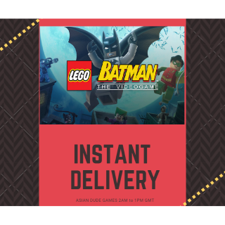 LEGO Batman: The Videogame STEAM KEY GLOBAL [INSTANT DELIVERY]