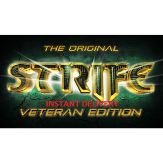 The Original Strife: Veteran Edition STEAM KEY GLOBAL [INSTANT DELIVERY]