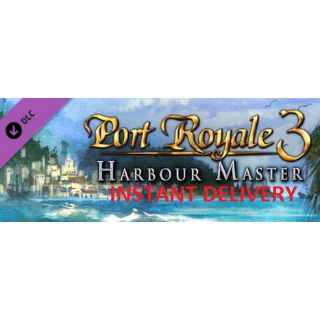 Port Royale 3: Harbour Master DLC STEAM KEY GLOBAL [INSTANT DELIVERY]
