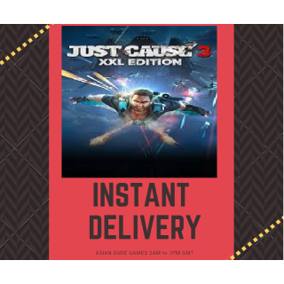 Just Cause 3 XXL Edition STEAM KEY GLOBAL [Instant Delivery]