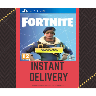 Fortnite Royale Bomber Skin PS4 EU [INSTANT DELIVERY]