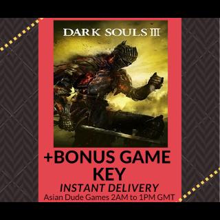 Dark Souls 3 + BONUS Steam Key [INSTANT DELIVERY]