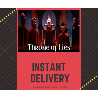 Throne of Lies® The Online Game of Deceit STEAM KEY GLOBAL [INSTANT DELIVERY]