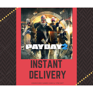 Payday 2 STEAM KEY GLOBAL [INSTANT DELIVERY]