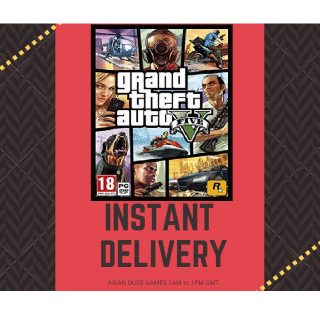 Grand Theft Auto V GLOBAL ROCKSTAR KEY [INSTANT DELIVERY]
