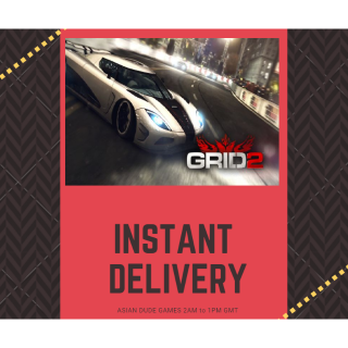 GRID 2 + 2 DLCS STEAM KEY GLOBAL [INSTANT DELIVERY]