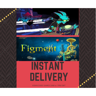 (2 Games) Hover + Figment STEAM KEY GLOBAL [INSTANT DELIVERY]