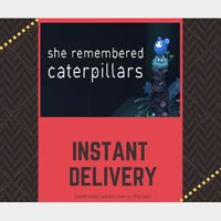 She Remembered Caterpillars STEAM KEY GLOBAL [INSTANT DELIVERY]