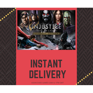 Injustice: Gods Among Us - Ultimate Edition STEAM KEY GLOBAL [INSTANT DELIVERY]