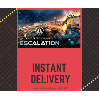 Ashes of the Singularity: Escalation STEAM KEY GLOBAL [INSTANT DELIVERY]