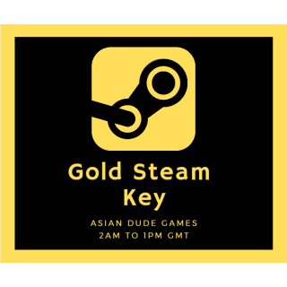 [INSTANT] Gold Steam Key GLOBAL