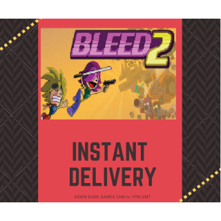 Bleed 2 STEAM KEY GLOBAL [INSTANT DELIVERY]