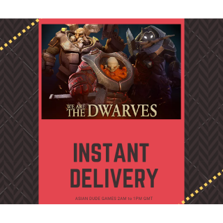 We Are The Dwarves STEAM KEY GLOBAL [INSTANT DELIVERY]