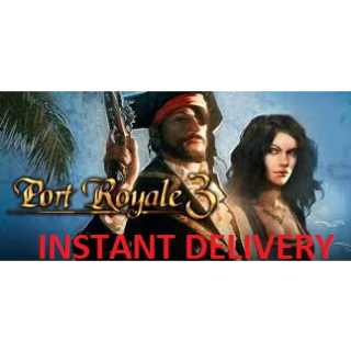 Port Royale 3 STEAM KEY GLOBAL [INSTANT DELIVERY]