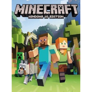 🔥 HOT SALE🔥  Minecraft Windows 10 Edition Key