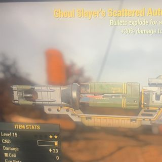 Weapon | gs e lvl15 laser