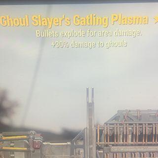 Weapon | gs e Gatling plasma 2*