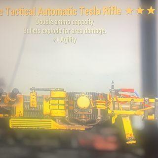 Weapon | double e agi Tesla