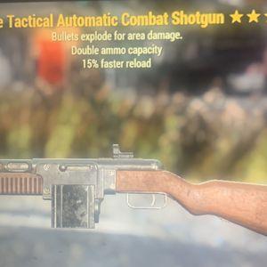 Weapon | d e fr combat shotgun