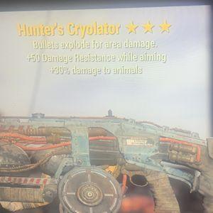 Weapon | h e 50dr cryo