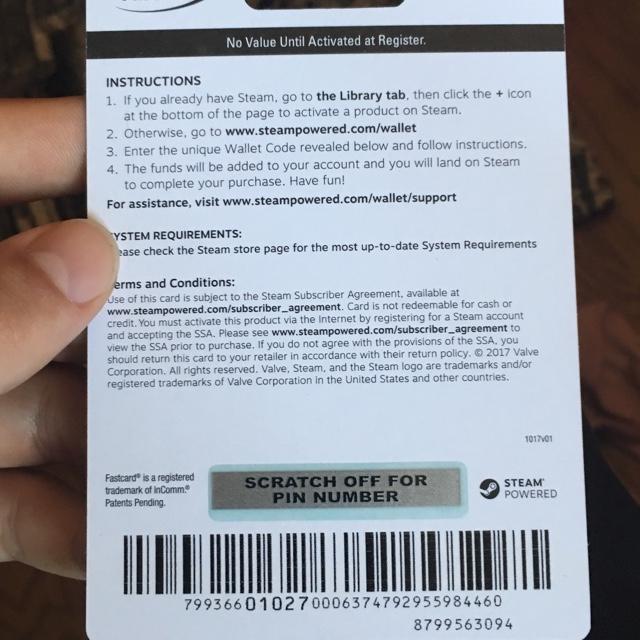 $50 00 Steam - Steam Gift Cards - Gameflip