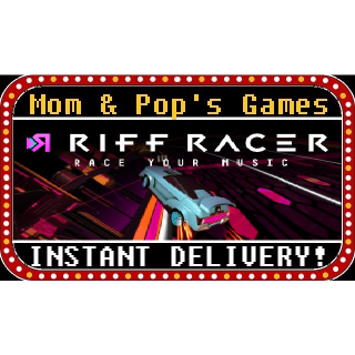 Riff Racer - Race Your Music! - Steam Key, Global