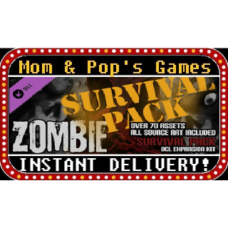 Axis Game Factory's AGFPRO - Zombie Survival Pack DLC - Steam Key, Global