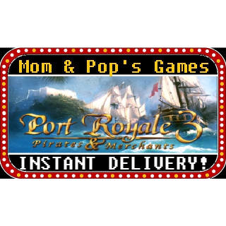 Port Royale 3 - Steam Key, Global