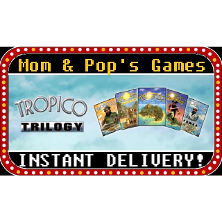 Tropico Trilogy - Steam Key, Global