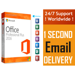 Lifetime Office 2016 Professional Plus Genuine License Key Activation 32/64 bit 🔑 Region Free 🔑 Instant Delivery 🔑