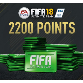 FIFA 18 - 2200 FUT POINTS ORIGIN CD KEY  🔑 Worldwide 🔑 Instant Delivery 🔑
