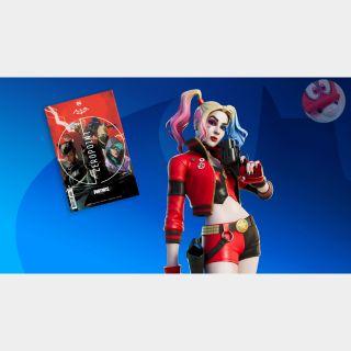 Code   Harley Quinn Rebirth