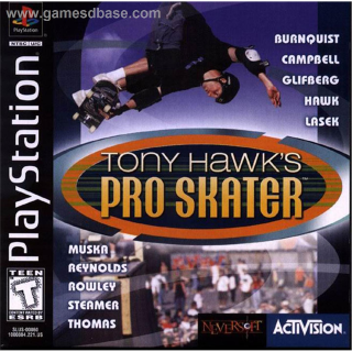 Tony Hawk's Pro Skater - disk and case