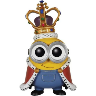 Funko Despicable Me Minions Movie POP! Animation King Bob Vinyl Figure #168 No Box