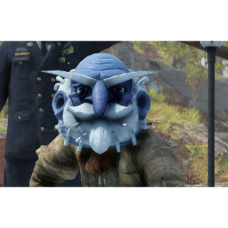 Apparel | old man winter mask