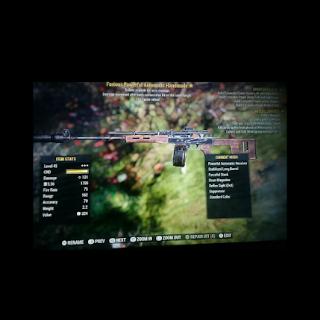 Weapon   FE hndmde 3* mx lvl