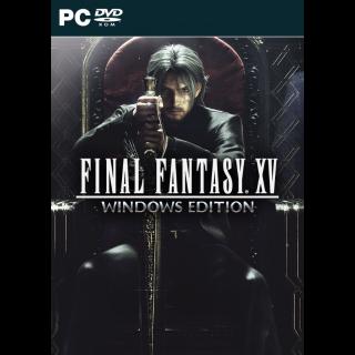 Final Fantasy Xv / STEAM / Region Free