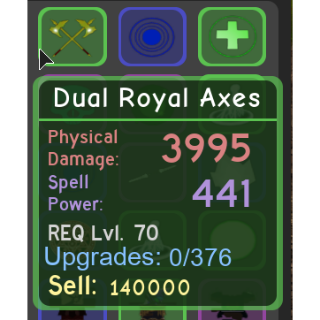 Other | Dual Royal Axes DQ