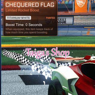 Titanium White Chequered Flag 😇 [NEW]