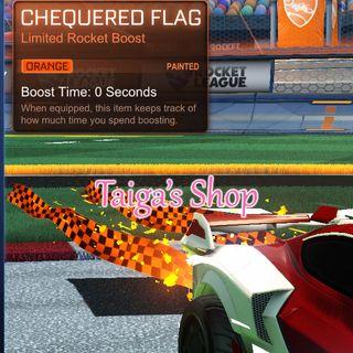 Orange Chequered Flag 😇 [NEW]