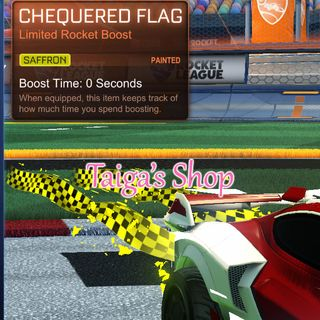 Saffron Chequered Flag 😇 [NEW]